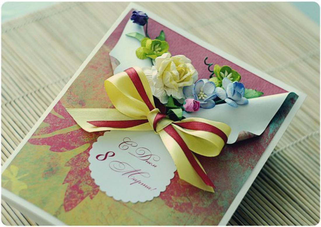 Простые по изготовлению, но милые открытки, станут тем неповторимым и уникальным подарком, которого не купишь ни в одном магазине.