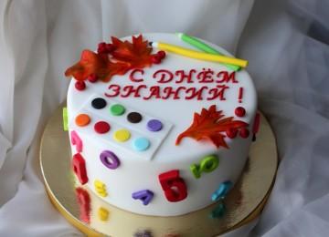 Как украсить торт на 1 сентября, подробные рецепты