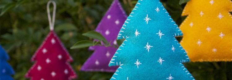 Самодельные новогодние игрушки на елку из подручных материалов
