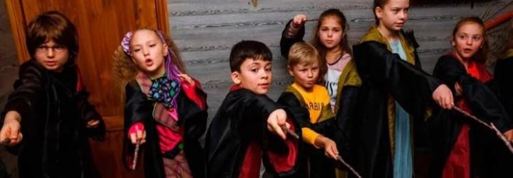 Детский квест по Гарри Поттеру для проведения дома и на природе