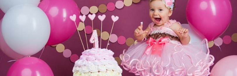 Как сделать торт на 1 годик ребенку своими руками?