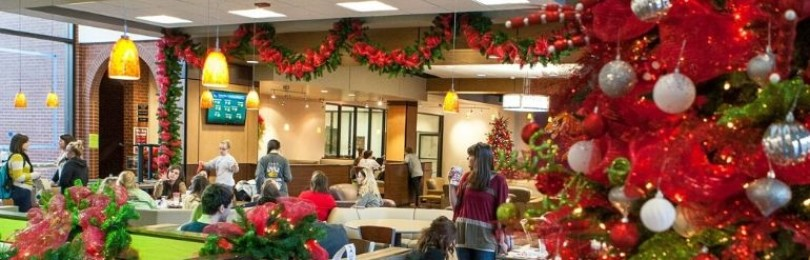 Лучшие идеи украшения офиса к Новому году