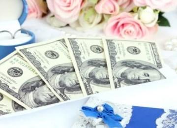 Какую сумму дарят молодоженам родители, друзья, близкие и дальние родственники?