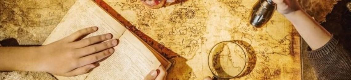 Домашний квест для ребенка по поиску подарка «По следам пиратского клада»