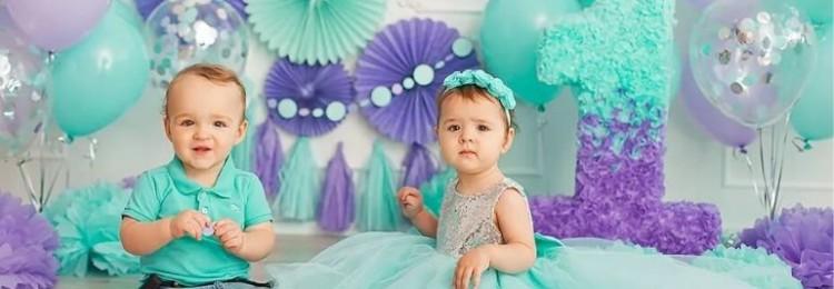Как сделать объемную единичку на день рождения мальчику и девочке?