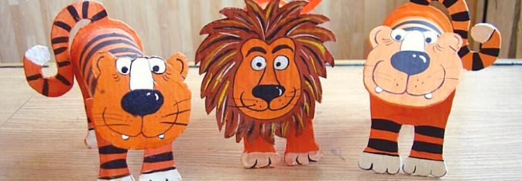 Пошаговые мастер-классы по созданию тигренка своими руками