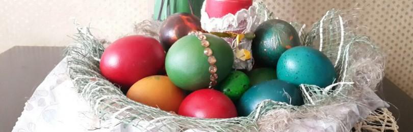 Как оригинально покрасить яйца на Пасху?