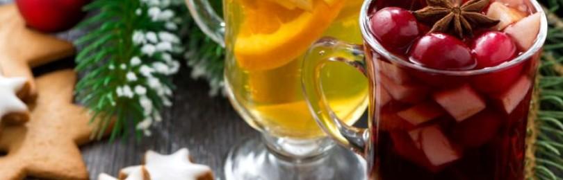 Рецепты алкогольных и безалкогольных новогодних коктейлей