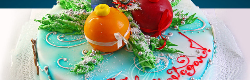 Рецепты и украшение тортов к Новому году — удивите своих близких