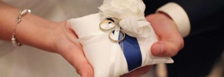 Как самим сделать подушечку для обручальных колец?