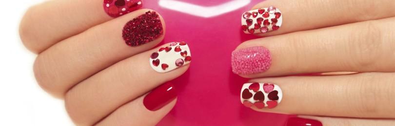 Идеи маникюра и дизайна ногтей ко дню всех влюбленных