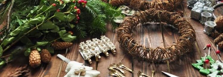 Новогодние и рождественские венки: лучшие мастер-классы