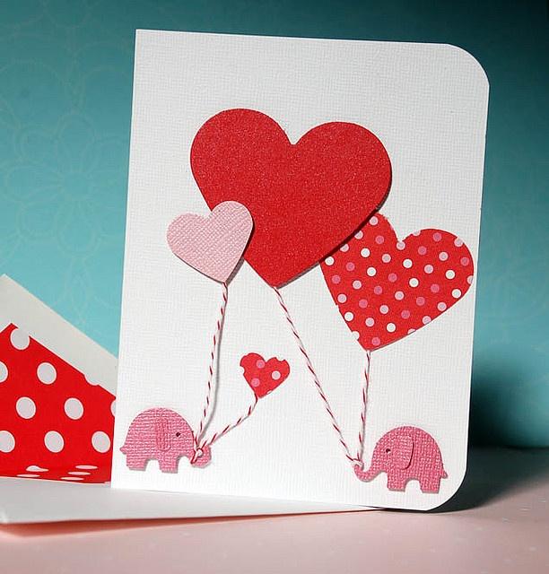 Как сделать открытку на 14 февраля своими руками с ребенком, вставить